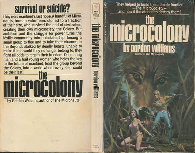 The Microcolony  - Gordon M Williams cover