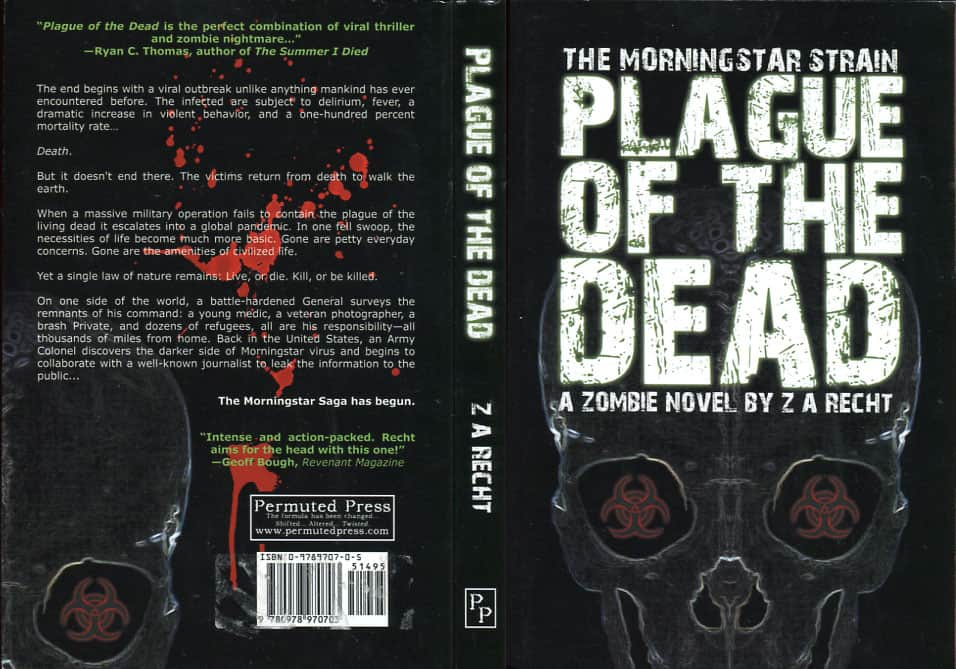 Plague of the Dead - Z. A. Recht cover