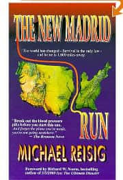 The New Madrid Run  - Michael Reisig cover