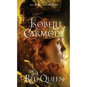The Red Queen  - Isobelle Carmody cover