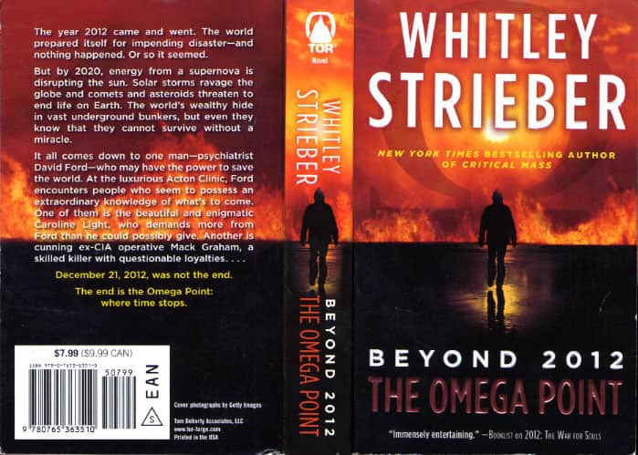 The Omega Point  - Whitley Strieber cover