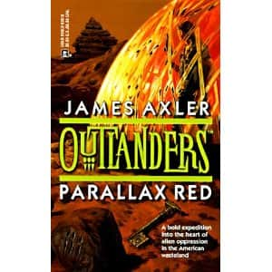 Parallax Red - James Axler cover