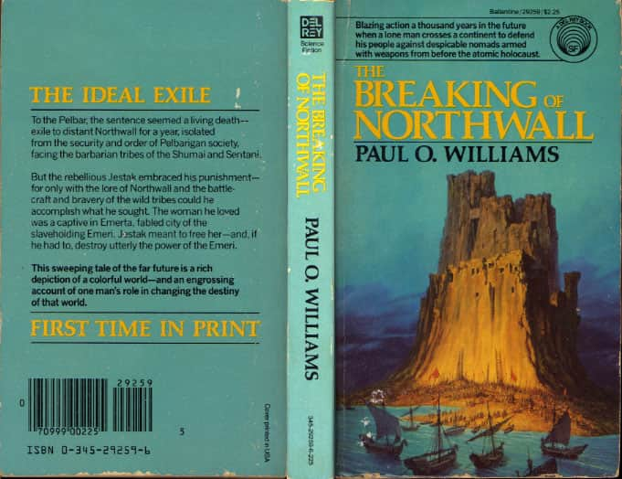 The Breaking of Northwall  - Paul O. Williams cover