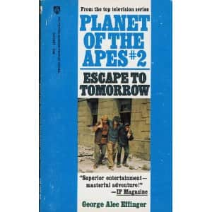 Escape to Tomorrow - George Alec Effinger cover