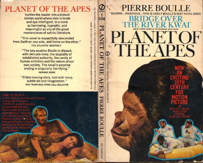 Planet of the Apes - Pierre Boulle cover