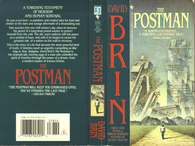 The Postman  - David Brin cover