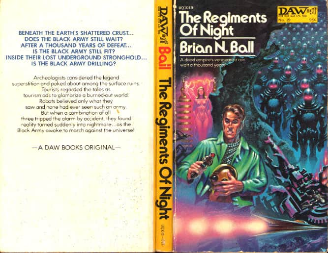 Regiments of Night  The/Night of the Robots - Brian N. Ball cover
