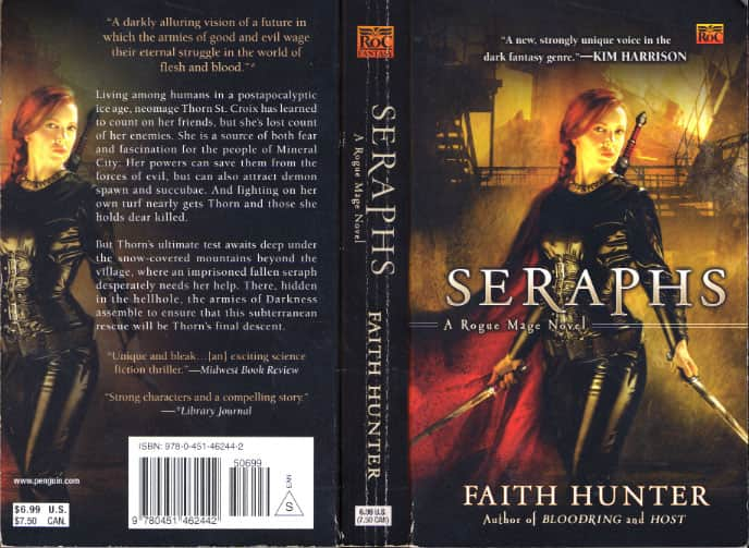 Seraphs - Faith Hunter cover