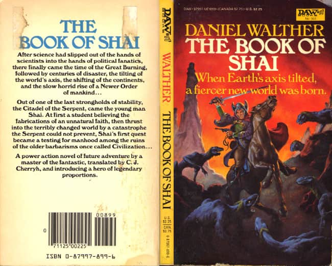 The Book of Shai  - Daniel Walther cover