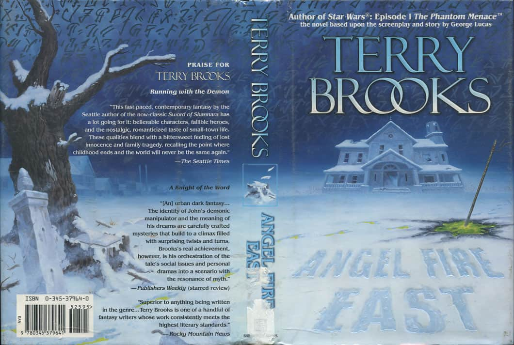 Angel Fire East - Terry Brooks cover