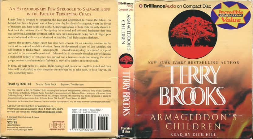 Armageddon's Children - Terry Brooks cover