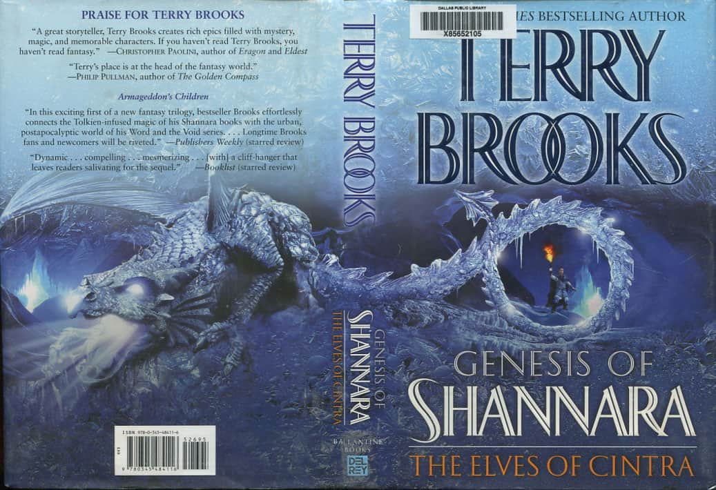 The Elves of Cintra  - Terry Brooks cover