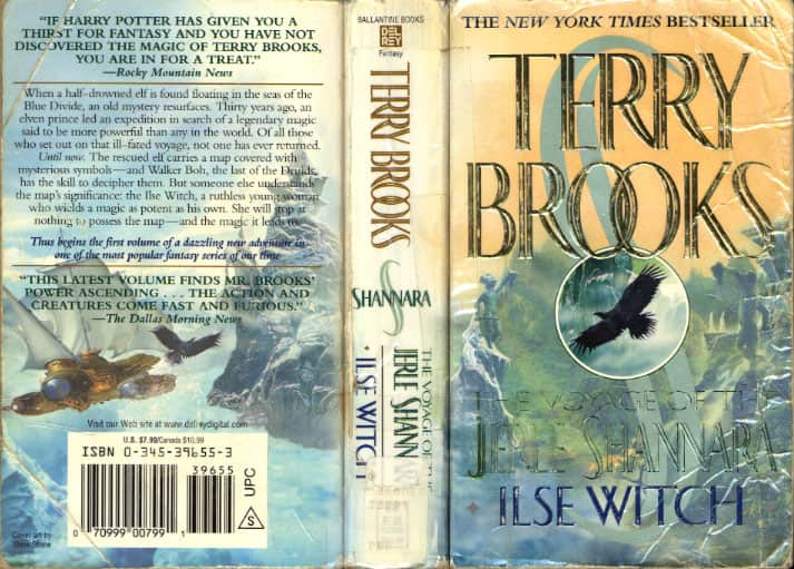 Ilse Witch - Terry Brooks cover