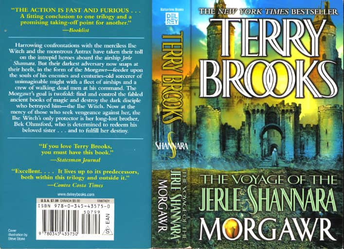 Morgawr - Terry Brooks cover