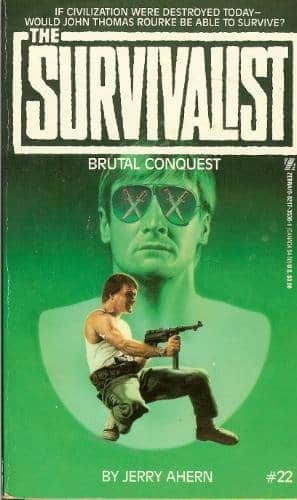 Brutal Conquest - Jerry Ahern cover