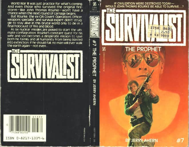 The Survivalist by Jerry Ahern 28 Zebra Paperbacks