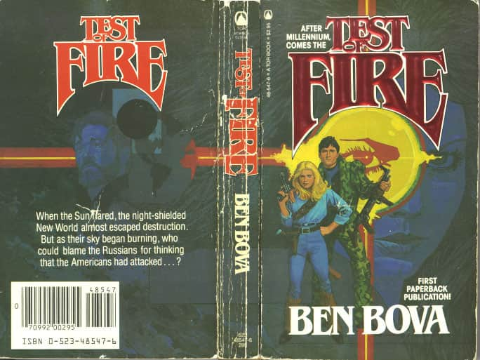 Test of Fire - Ben Bova cover