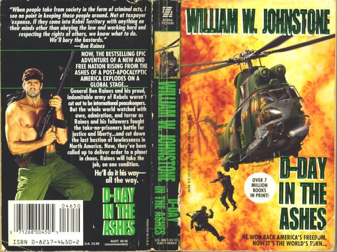 D-Day in the Ashes - William W. Johnstone cover