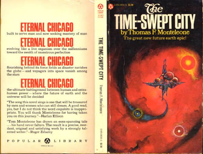 The Time-Swept City  - Thomas F. Monteleone cover