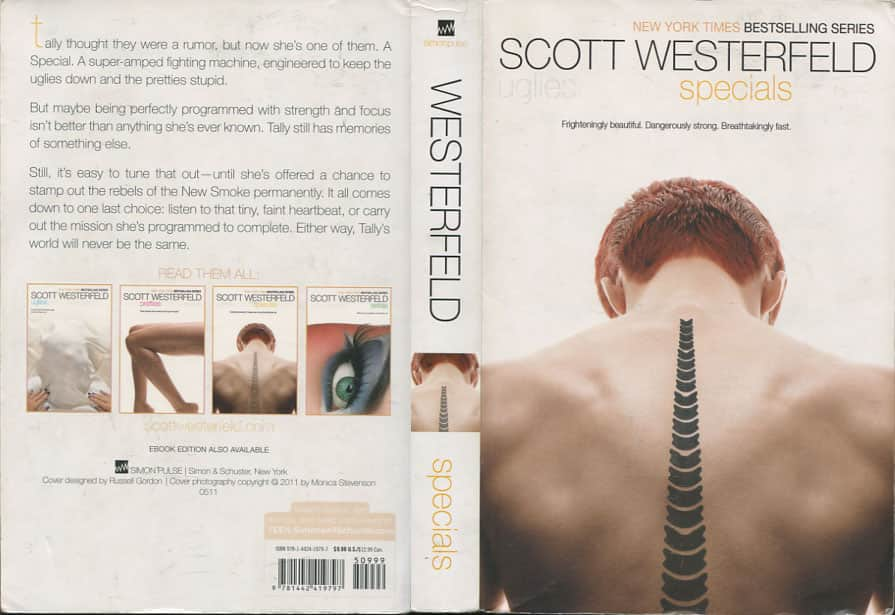 Specials - Scott Westerfeld cover
