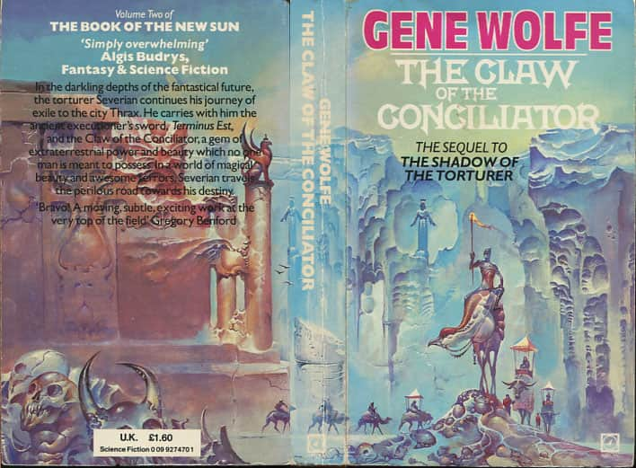 The Claw of the Conciliator  - Gene Wolfe cover