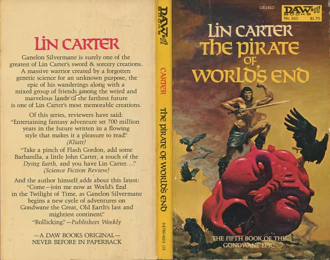 The Pirate of World's End  - Lin Carter cover